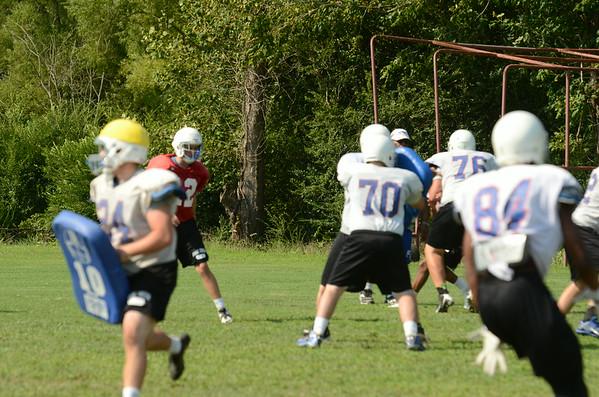 Prep Football Practice on 8/14/2014