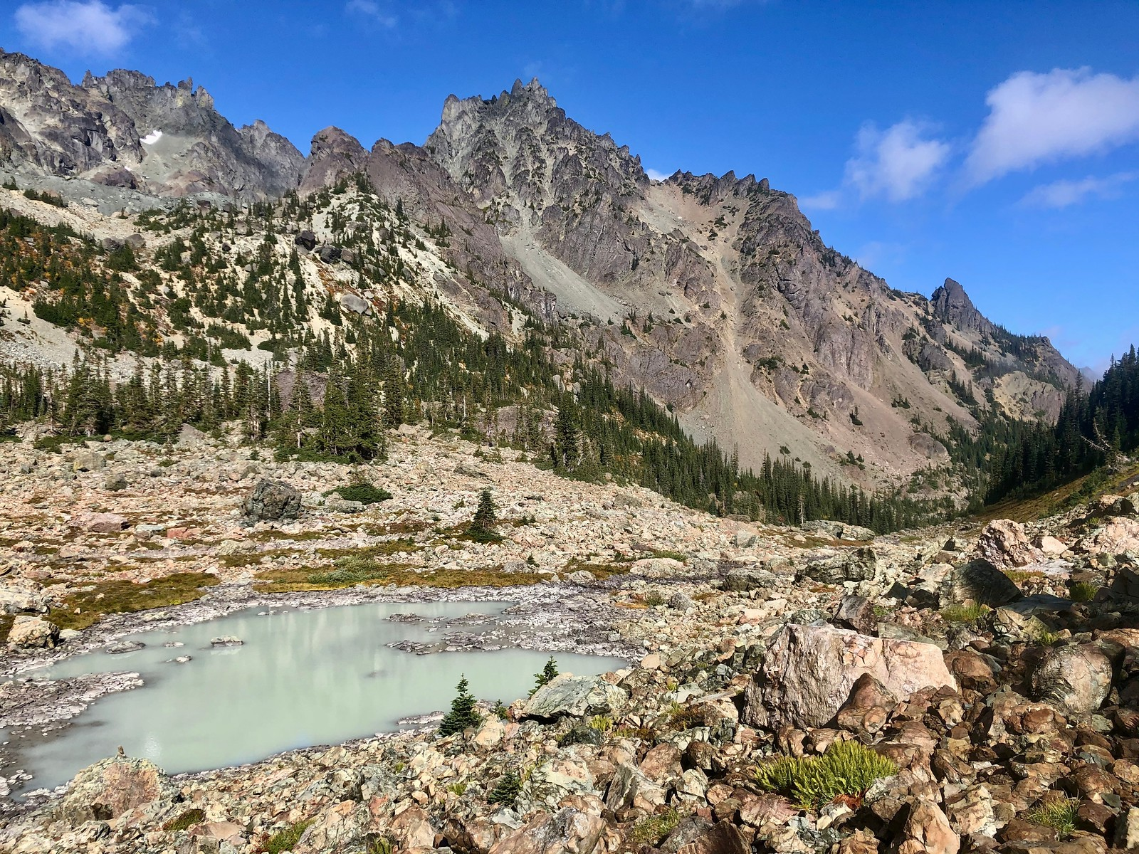 Smallest of the basin lakes