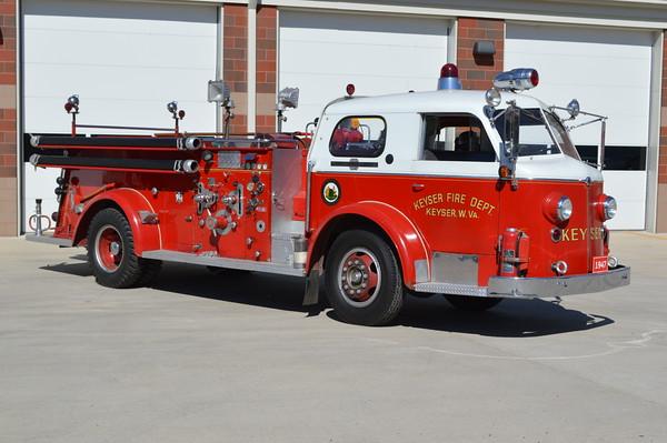 Company 1 - Keyser Fire Department (main station)
