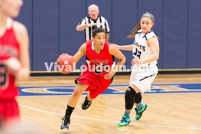 Girls Basketball: Heritage vs. John Champe 1.15.15 (by Chas Sumer)