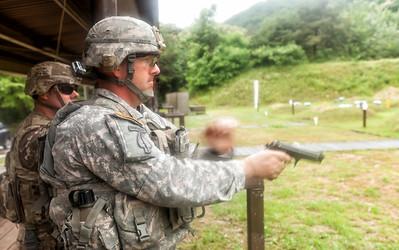 115th Pistol Range, June 2016