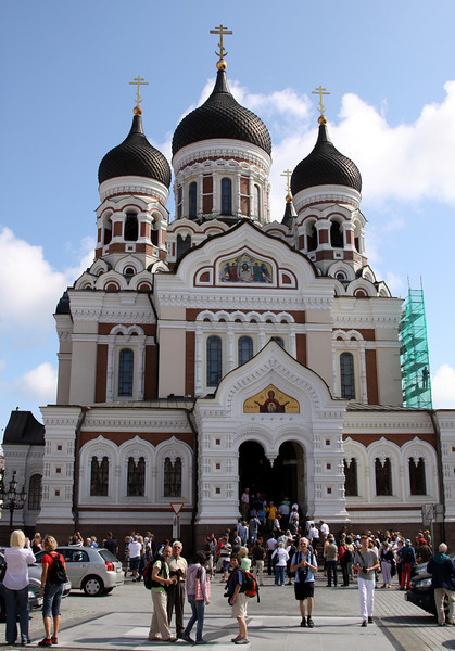 Toompea - Alexandr Nevsky Cathedral, 19th century Russian Orthodox church in Toompea (the upper town).