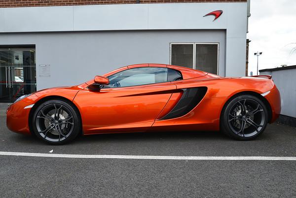 McLaren MP12 Spider