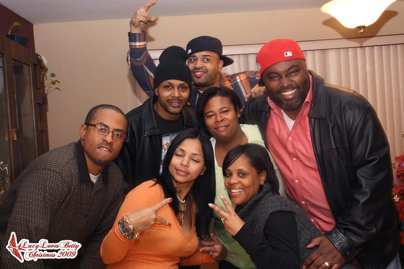 Graham Family - 2009 - Christmas at Kisha's House