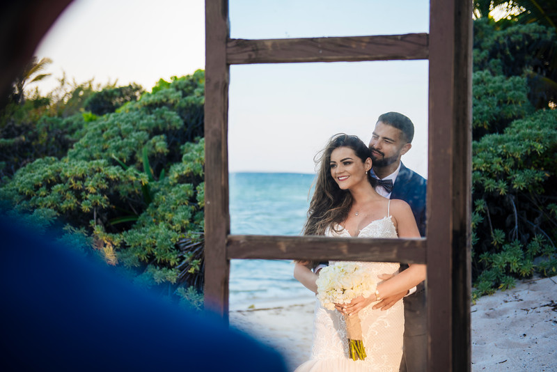 Elvira + Erick Wedding - Blue Venado Beach Club