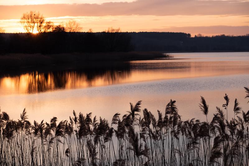 Pasternik Reservoir, Starachowice, Swietokrzyskie, Poland