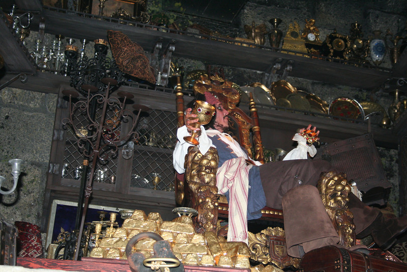Jack Sparrow on the pirates of the carrabean ride