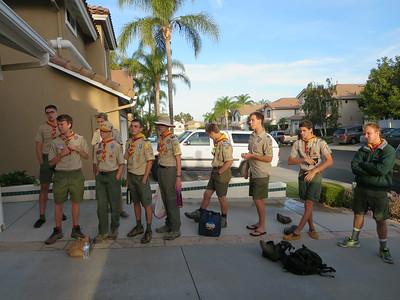7/26/2014 ~ 8/1/2014: Yosemite High Sierra Backpack Trip