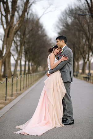 Audrey + Neil // D.C War Memorial, Civil wedding