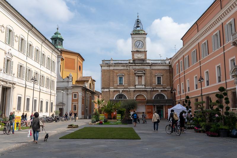 Piazza del Popolo in Ravenna