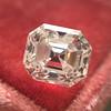 2.39ct Antique Asscher/Square Emerald Cut Diamond, GIA D/IF 0