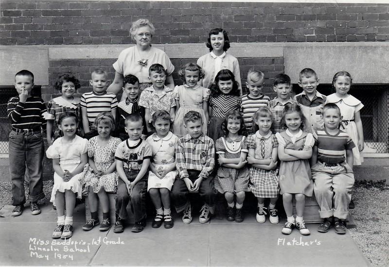 Lincoln 1st Grade Saddoris