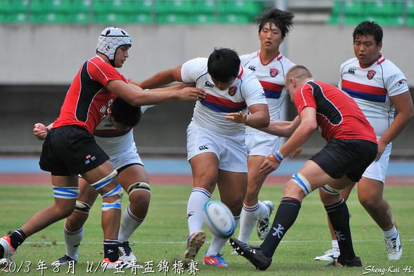 2013 U19亞青盃第一級-香港VS韓國(ARFU U19 D1-HKG vs KOR)