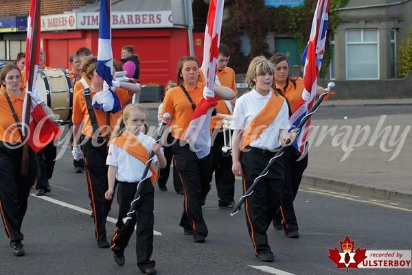 Queens Park Flute Band Parade