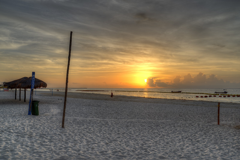 Sunrise - Playa del Carmen, Mexico - August 15, 2014