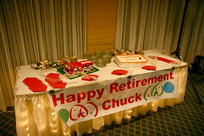Chuck Thomas Retirement Party