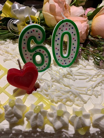 JACKO'S 60th CELEBRATION, March 2019