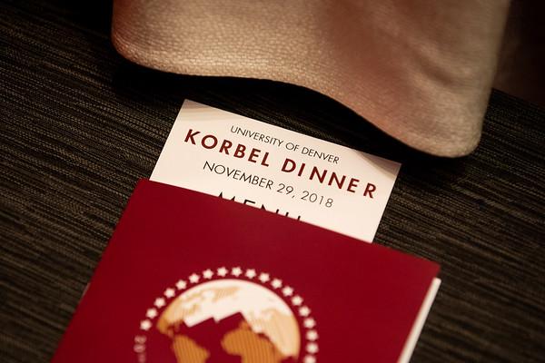 Korbel Dinner 2018