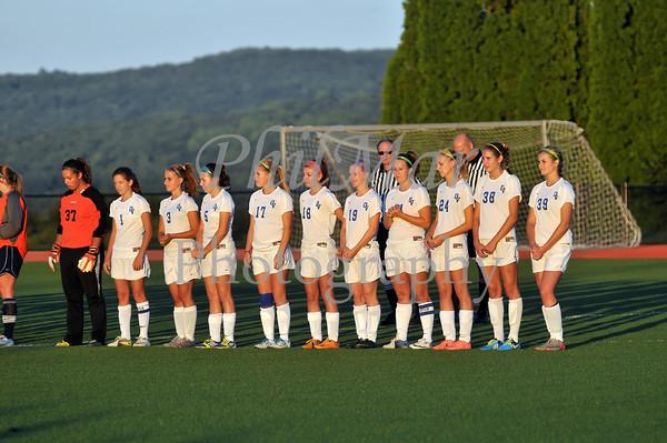 Oley Valley vs Wyomissing Girls High School Soccer 2012 - 2013