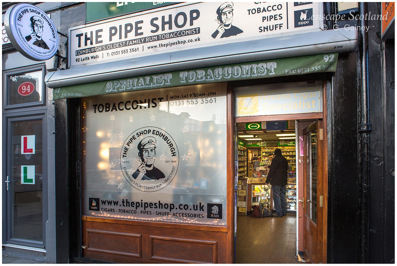 The Pipe Shop, Leith Walk