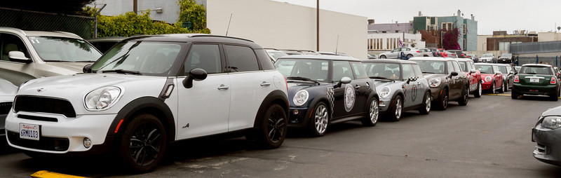 MINI of SF Rally and Cowboy Hoedown 8/19/12