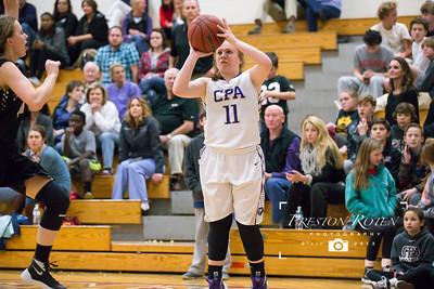 CPA Varsity Girls Basketball vs. Stewart County (Region Quarterfinals)