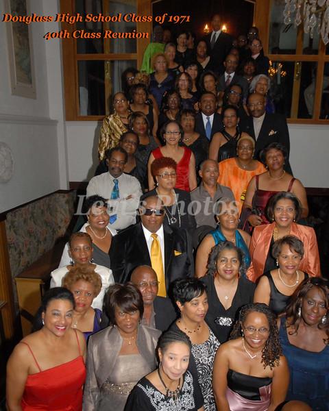 Douglass Class of 1971 40th Reunion