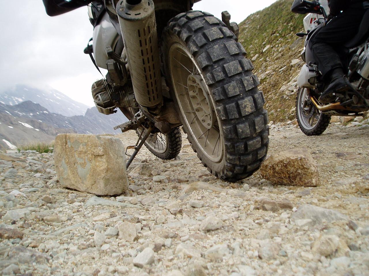 2006 Pointe Sommeiller Groffe banden & groffe stenen