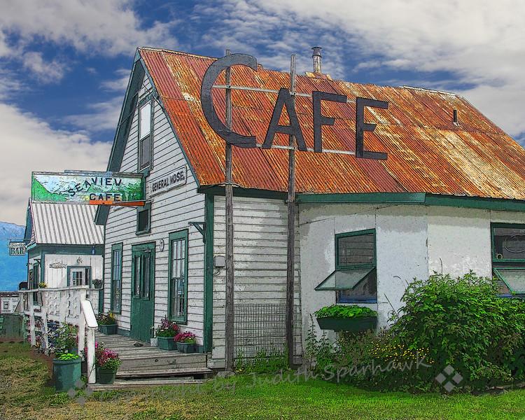 Downtown Hope, Alaska - Judith Sparhawk