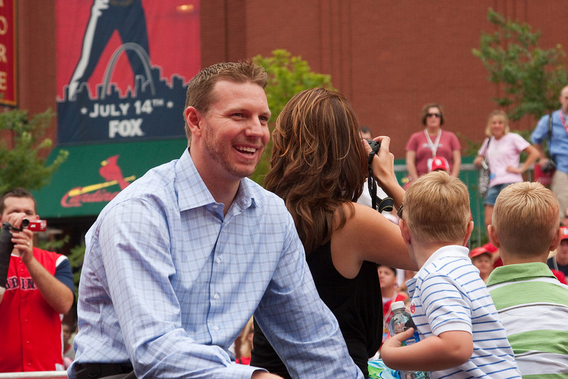 """Roy Halladay, Blue Jays, 2009 MLB All Star Game """"Red Carpet Show"""", St. Louis, MO"""
