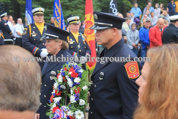 9/17/16 - Roscommon Firemen's Memorial