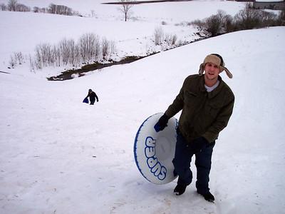 Sledding Feb '09