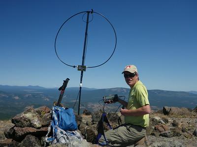 Diamond Mtn W6/NS-191, Thompson Peak W6/NS-183 SOTA Activations 7/10/2014