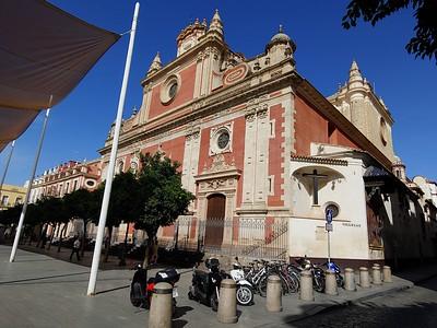 Sevilla, Spain - Church of El Salvador