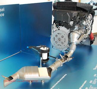 BMW TT 3.0L Diesel Engine Cutaway