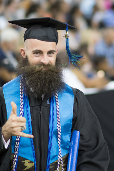 Kyle Bauer. Over 1,100 graduates received their degrees during two commencement ceremonies held on May 13.