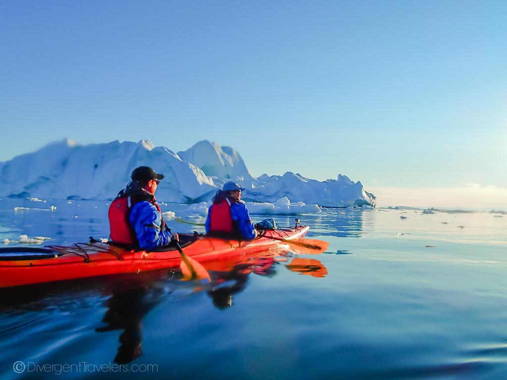 Greenland kayaking - Ilulissat - Lina Stock