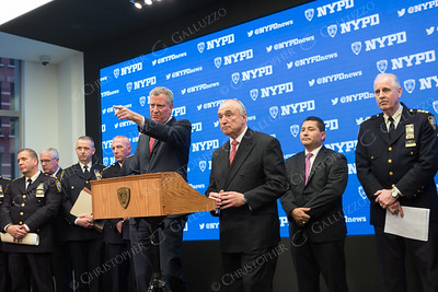 Mayor & NYPD Commissioner Press Conference for NYE Security