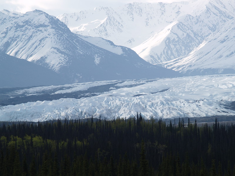 Matanuska Glacier - not on the Al-Can but part of our trip!