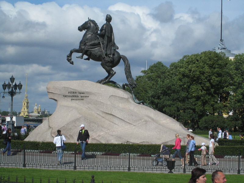 The Bronze Horseman, Monument to St. Peter the Great, St. Petersburg