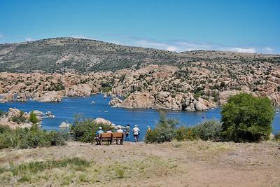 Watson Lake Park, Prescott, AZ . 7-6-19