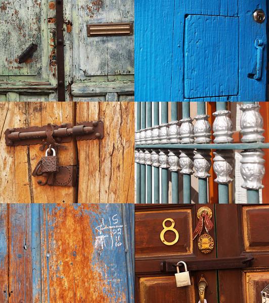 The doors of San Miguel