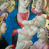 Madonna and Child with Four Angels, 1450-1455.  The Louvre Museum, Paris, France