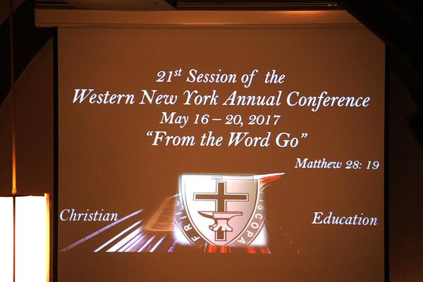 Christian Education Night Program (5/19/17)