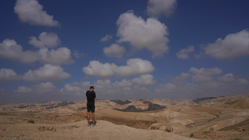 Desert and Dead Sea