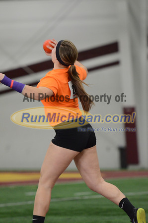 Girls' Shot Put, Gallery 2 - 2014 MITS State Meet