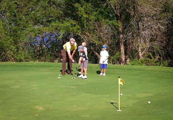 Jr. Golf Program at Wailea, 030913
