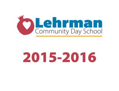 Lehrman 2015-2016