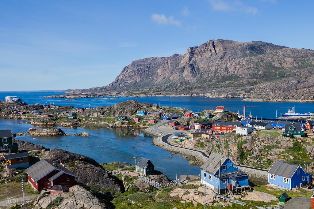 Sisimiut Greenland -Lina Stock