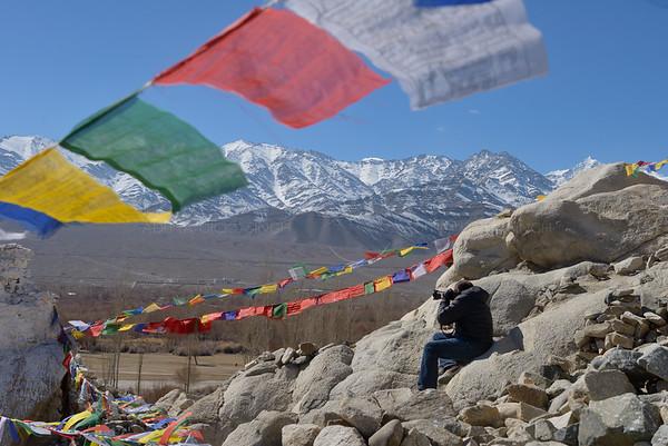 Shey monastery in Ladakh